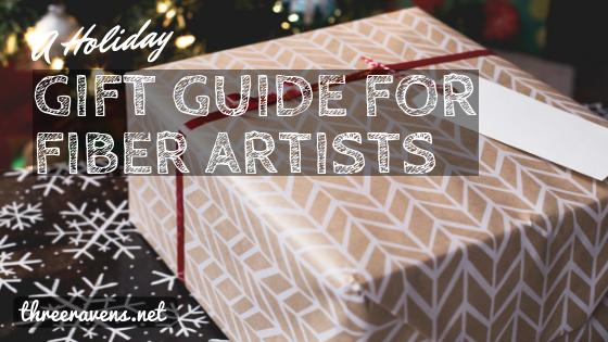 gift guide fiber artists
